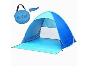 iCorer Instant Cabana Pop Up Beach Tent Sun Shelter