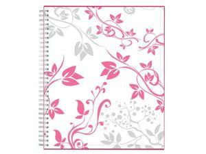 "Blue Sky™ Breast Cancer Awareness CYO Planner, Monthly, 8"" x 10"", Alexandra, January to December 2019"