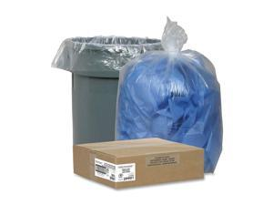 """Nature Saver Trash Can Liners Rcycld 45 Gal 1.5mil 40""""x46"""" 100/BX CL 29901"""