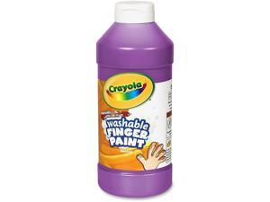 Crayola. 551316040 Washable Fingerpaint, Violet, 16 oz