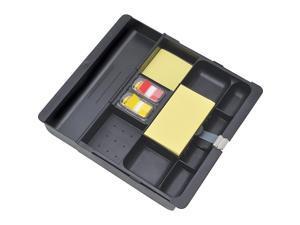 Post-it Recycled Plastic Desk Drawer Organizer Tray Plastic Black C71