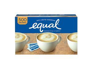 Equal MRINUT20015448 Sugar Substitute Packets - 1 Box (500 Packets)