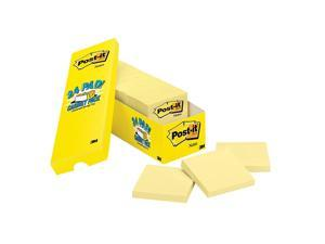 """Post-it Notes Cabinet Pack 3"""" x 3"""" Canary Yellow 24/Pads (654-24CP) 653423"""
