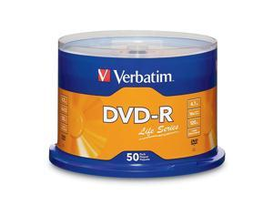 DVD-R LifeSeries Branded Disc 4.7 GB 16x Spindle Silver 50/Pack 97176