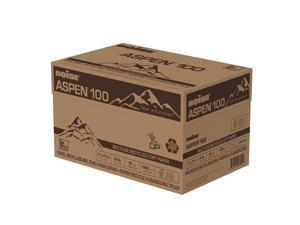 """BOISE ASPEN 100 MULTI-USE RECYCLED COPY PAPER, 11"""" x 17"""", Ledger, 92 Bright White, 20 lb., 2500 Sheets/Carton"""
