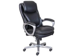 Serta® Smart Layers™ Arlington Executive Air™ Chair, Black