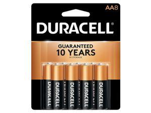 DURACELL CopperTop 1.5V AA Alkaline Battery, 8-pack