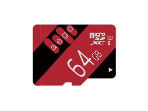 AEGO Ultra 64gb Micro SD Card microSD Memory Card Class 10 for Kindle Fire Dash Cam GoPro (U1 64GB)
