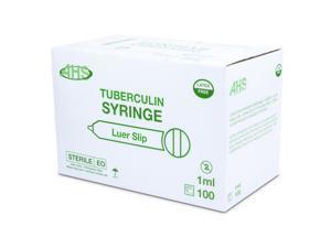 Syringe 1Cc L/S 100/Bx