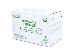 """Syringe 3Cc 22G X 1"""" L/L 100/Bx"""
