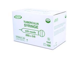 Syringe 1Cc 25 X 5/8 L/S Tb 100/Bx