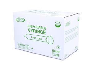 Syringe 60Cc L/L 25/Bx
