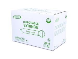 Syringe 20Cc L/L 50/Bx