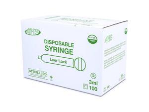 Syringe 3Cc L/L 100/Bx