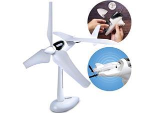 discovery kids #mindblown wind turbine glider kit, stem science experiment for kids, fun engineering project for boys and girls