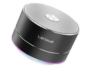 lenrue portable wireless bluetooth speaker with built-in-mic,handsfree call,aux line,tf card,hd sound and bass for iphone ipad