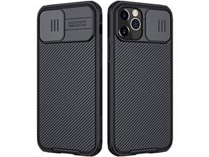 nillkin [camshield pro] compatible with iphone 12 pro max case series case with slide camera cove,[hard pc and tpu] protective