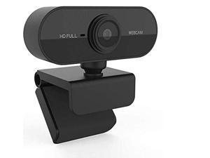 1080p webcam with microphone, 1080p web camera for windows/mac os pc, laptop, computer, desktop, usb 2.0 plug and play, for liv