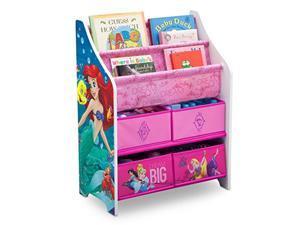 disney princess book and toy organizer
