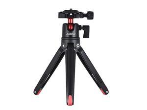 andoer mini tabletop tripod stand with ball head compatible with canon nikon sony dslr mirrorless camcorder compatible with iph
