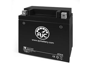 power source wp14-bs powersports replacement battery - this is an ajc brand replacement