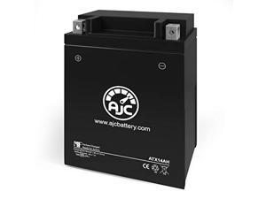 indian scout 1133cc motorcycle replacement battery (2015-2018) - this is an ajc brand replacement