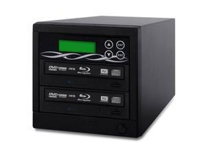 spartan 500gb hard drive to 1 target multiple blu ray disc copy duplicator with usb connection to pc (standalone video & audio