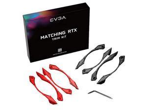 EVGA Red/Black Trim Kit for EVGA 20-Series Dual Fan Cards