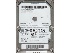 st250lm000, hm251hi, rev a, samsung 250gb sata 2.5 hard drive
