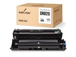sailner compatible drum unit replacement for brother dr820 dr-820 use with hl-l6200dw hl-l6200dwt hl-l5200dw hl-l5200dwt hl-l51
