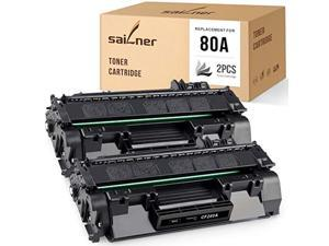 sailner compatible toner cartridge replacement for hp 80a cf280a use with laserjet pro m401 m401n m401dne m401dn m401dw m401a m