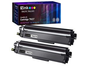 e-z ink (tm) with chip compatible toner cartridge replacement for brother tn227 tn227bk tn227 tn223 tn 223bk use with mfc-l3770