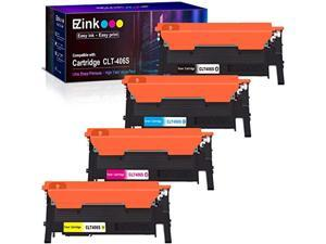 e-z ink (tm) compatible toner cartridge replacement for samsung 406 406s clt-k406s clt-c406s clt-m406s clt-y406s to use with xp