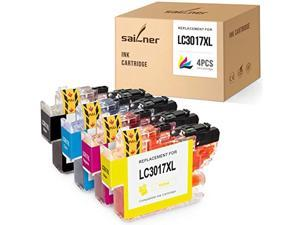 sailner compatible ink cartridge replacement for brother lc3017 lc 3017 use with mfc-j5330dw mfc-j6530dw mfc-j6930dw mfc-j6730d