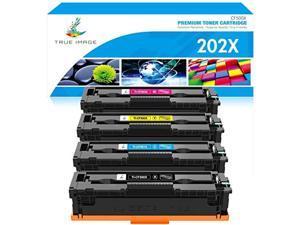 true image compatible toner cartridge replacement for hp 202x cf500x cf500a 202a hp color laserjet pro mfp m281fdw m281cdw m254