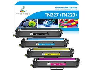 true image compatible toner cartridge replacement for brother tn227 tn-227 tn227bk tn223 tn-223bk hl-l3210cw hl-l3290cdw hl-l32