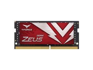 Team T-FORCE ZEUS 32GB 260-Pin DDR4 SO-DIMM DDR4 3200 (PC4 25600) Laptop Memory Model TTZD432G3200HC16F-S01