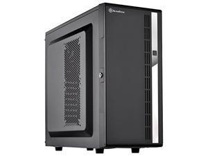 silverstone technology cs380 8-bay compact atx tower case, cs380b-x v2.0, black