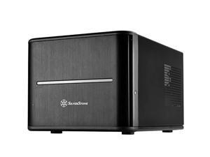 "silverstone technology sst-cs280b-usa premium 8-bay 2.5"" small form factor nas chassis cs280b-usa"