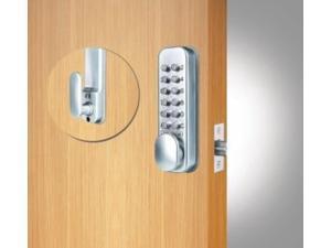 codelocks cl160 mortise latch-silver grey-new