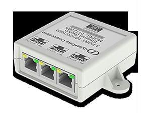 cyberdata cd-011236 3 port gigabit ethernet switch-2 pack