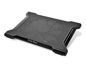 """cooler master notepal x-slim ii laptop cooling pad 'silent 200mm fan, egonomic design, supports up to 15.6"""" laptops' r9-nbc-xs2"""