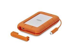 LaCie 4TB Rugged Portable Drive Thunderbolt USB-C Model STFS4000400
