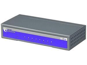 Amer Networks 8 Port 10/100Mbps Unamanged Desktop Ethernet Switch (S8)
