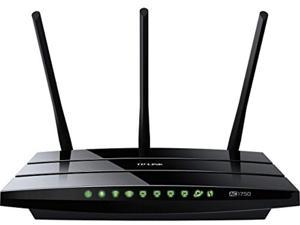 tp-link archer c7 ac1750 dual band wireless ac gigabit router, 2.4ghz 450mbps+5ghz 1300mbps, 2 usb port, ipv6, guest network (c