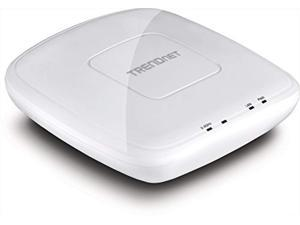 trendnet n300 wireless poe access point with software controller, gigabit, ap, client, 802.3af, tew-755ap