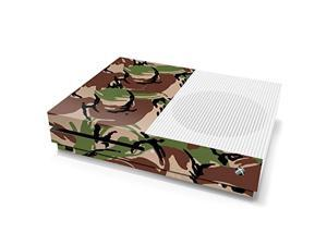 controller gear xbox one s console skin - camouflage: british dpm - officially licensed by xbox - xbox one