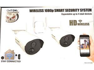 night owl 1080p smart security camera system had wireless up to 4 devices