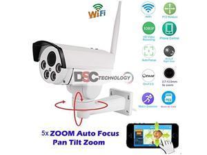 onvif full hd 2.0mp 1080p wifi ip wireless security cameras outdoor waterproof cctv pan tilt zoom ptz camera with built-in micr