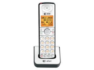 at&t cl80109 dect 6.0 cordless phone accessory handset, silver/black (accessory handset only)